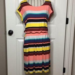 NWT!! Apt. 9 Cap Sleeve Pullover Dress, Large